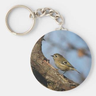 Goldcrest Keychain