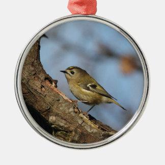 Goldcrest Metal Ornament