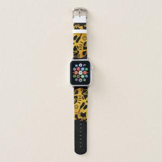 Golde Dog Papercut Chinese New Year 2018 A Watch B Apple Watch Band