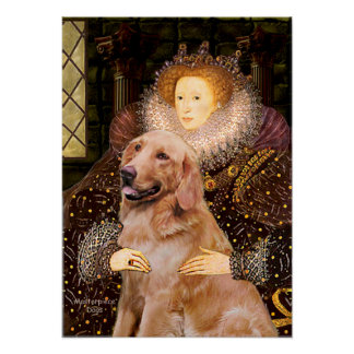 Golden (#1) -  Queen Elizabeth I Poster