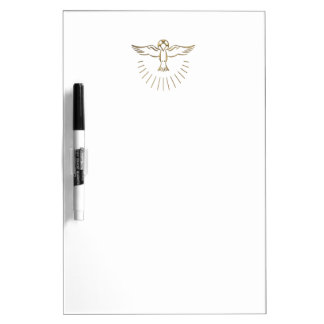 "Golden ""3-D"" Ascent of The Holy Spirit Dry-Erase Board"