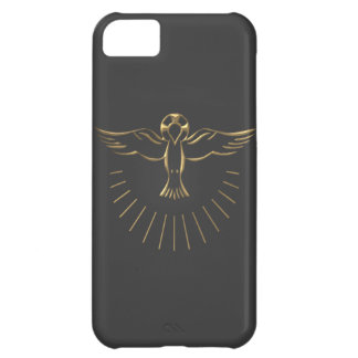 """Golden """"3-D"""" Ascent of The Holy Spirit iPhone 5C Case"""