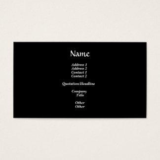 """Golden """"3-D"""" Baptismal Cross Business Card"""