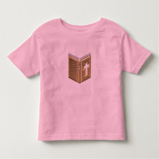 "Golden ""3-D"" Bible / Prayerbook / Hymnal Toddler T-shirt"