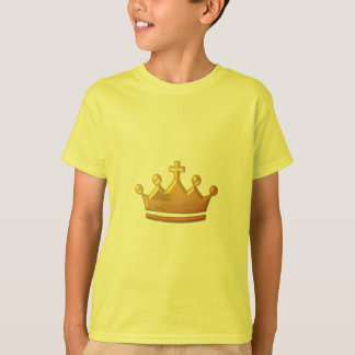 "Golden ""3-D"" Crown T-Shirt"