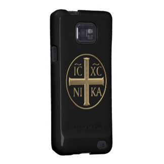 "Golden ""3-D"" Jesus Christ: Conquers Samsung Galaxy S2 Case"