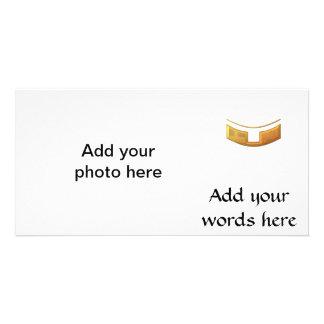 """Golden """"3-D"""" Priest/Minster Collar Card"""