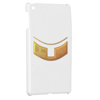 """Golden """"3-D"""" Priest/Minster Collar Cover For The iPad Mini"""