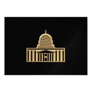 "Golden ""3-D"" Saint Peters Basilica Card"