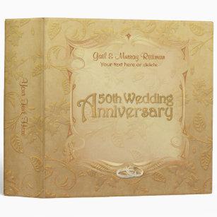 50th Anniversary Photo Wedding Albums Zazzle