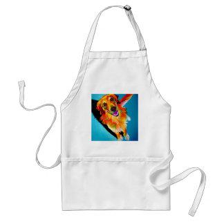 Golden #5 adult apron