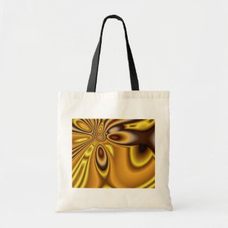 Golden Abstract ~ bag bag
