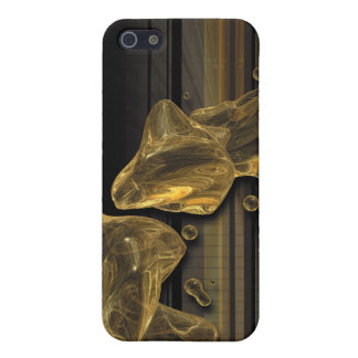 Golden Abstract Cover For iPhone SE/5/5s