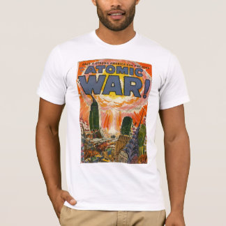Golden Age Comic Art - Atomic War T-Shirt