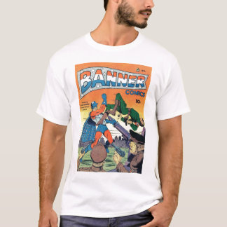 Golden Age Comic Art - Banner Comics T-Shirt