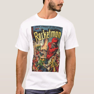Golden Age Comic Art - Rocketman T-Shirt