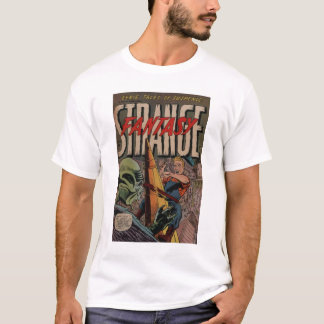 Golden Age Comic Art - Strange Fantasy T-Shirt