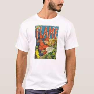 Golden Age Comic Art - The Flame T-Shirt