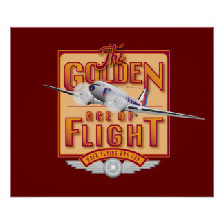 Golden Age of Flight-Poster