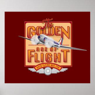 Golden Age of Flight-Poster