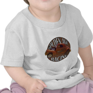 Golden Age Willys Gasser Drag Racing Patina Tshirt