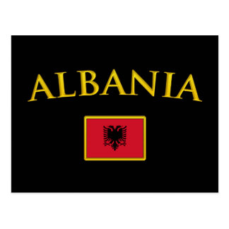 Golden Albania Postcard