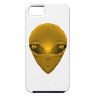 GOLDEN ALIEN iPhone 5 COVER