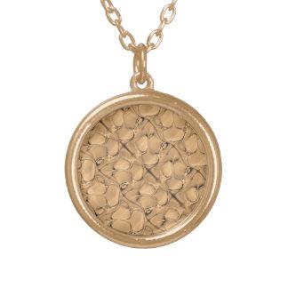 Golden Alligator Fractal Custom Jewelry