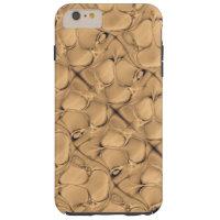 Golden Alligator Fractal Tough iPhone 6 Plus Case