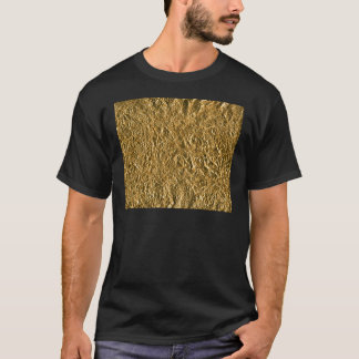 Golden Aluminium Background T-Shirt