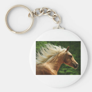 Golden Ambers Basic Round Button Keychain
