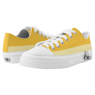 Golden and Pale Yellow Two-Tone Lo-Top
