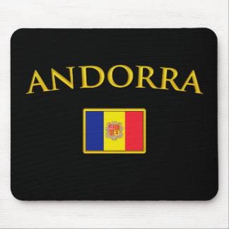 Golden Andorra Mouse Mat