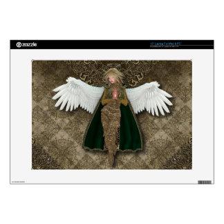 "Golden Angel 15"" Laptop Skin"