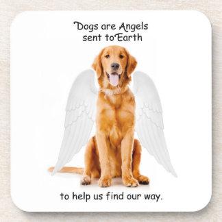 Golden Angel Coasters