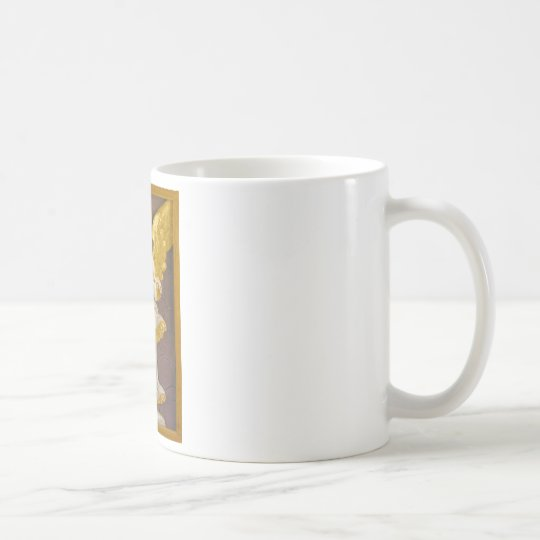 Golden Angel Coffee Mug