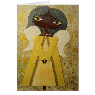 """""""Golden Angel"""" Greeting Card by Sunny Crittenden!"""