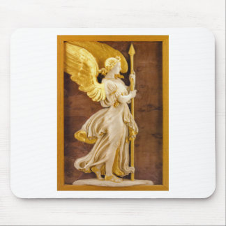 Golden Angel Mouse Pad