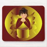 Golden Angel Mousepad Mousepad