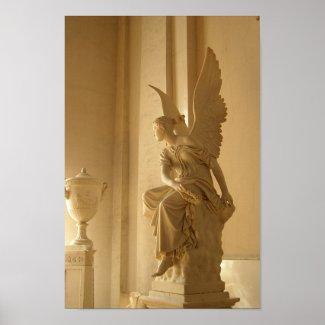 Golden Angel print