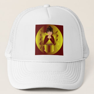 Golden Angel Trucker Hat