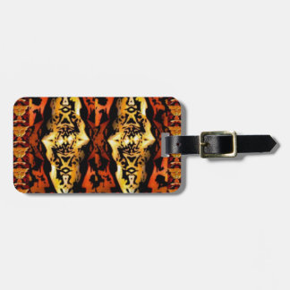 GOLDEN ANGELS : Chinese Style Graphic Deco ART Gif Luggage Tag