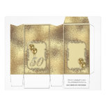 Golden Anniversary 50th Pinch Box Party Favors Flyer