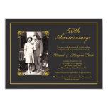 "Golden Anniversary 5"" X 7"" Invitation Card"