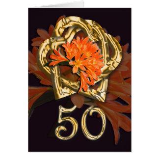 Golden Anniversary Congratulations Card