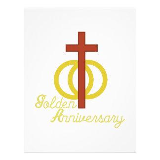Golden Anniversary Letterhead