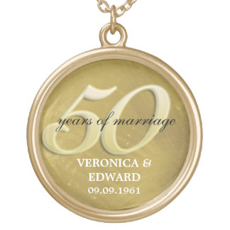 Golden Anniversary Necklace