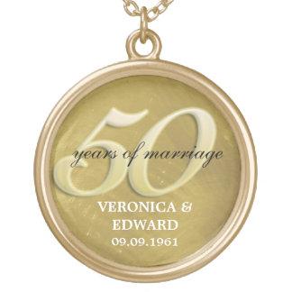 Golden Anniversary Necklace