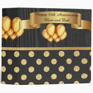 Golden Anniversary Scrapbook Binder