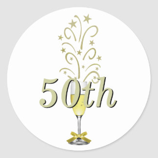 Golden Anniversary stickers